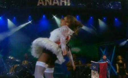 Chileno sobreviviente al exótico concierto de Anahí en Viña 2010